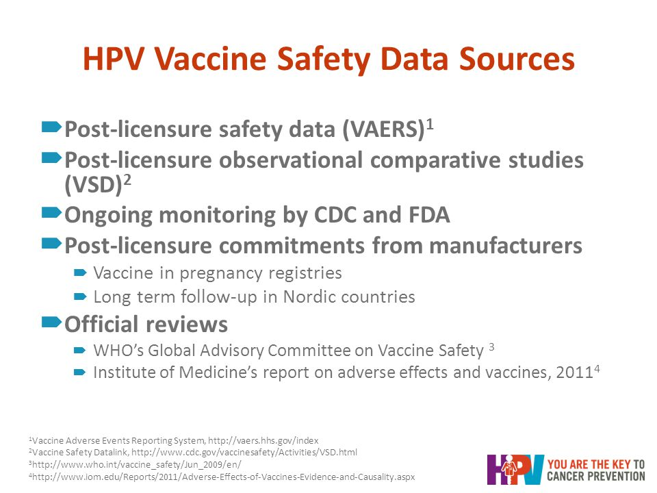 , Hpv vaccine long term side effects