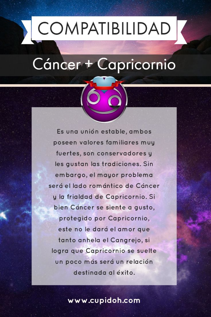 cancer que signo es compatible
