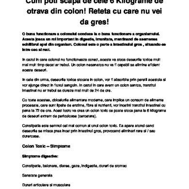 detoxifiere colon cu lamaie abdominal cancer symptoms signs