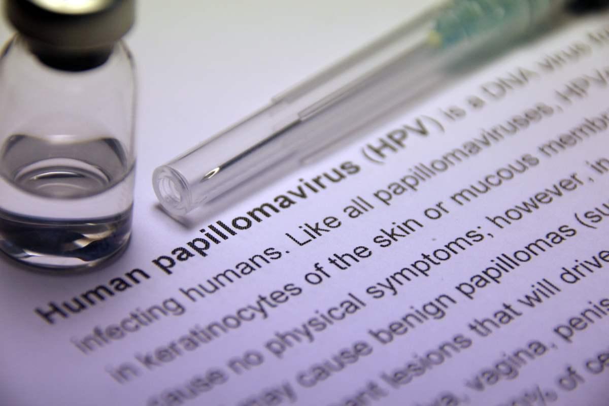 Il papilloma virus si trasmette alluomo.