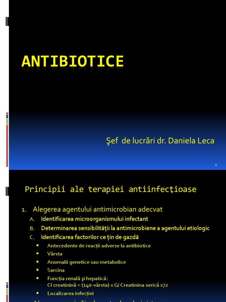 agent antimicrobian cu spectru larg