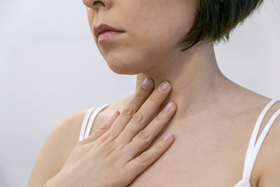cancer gorge papillomavirus symptomes