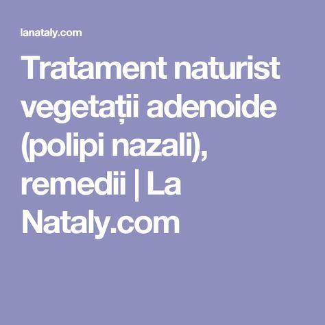Vegetatiile adenoide sau polipii la copii