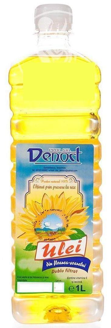detoxifiere cu ulei de floarea soarelui