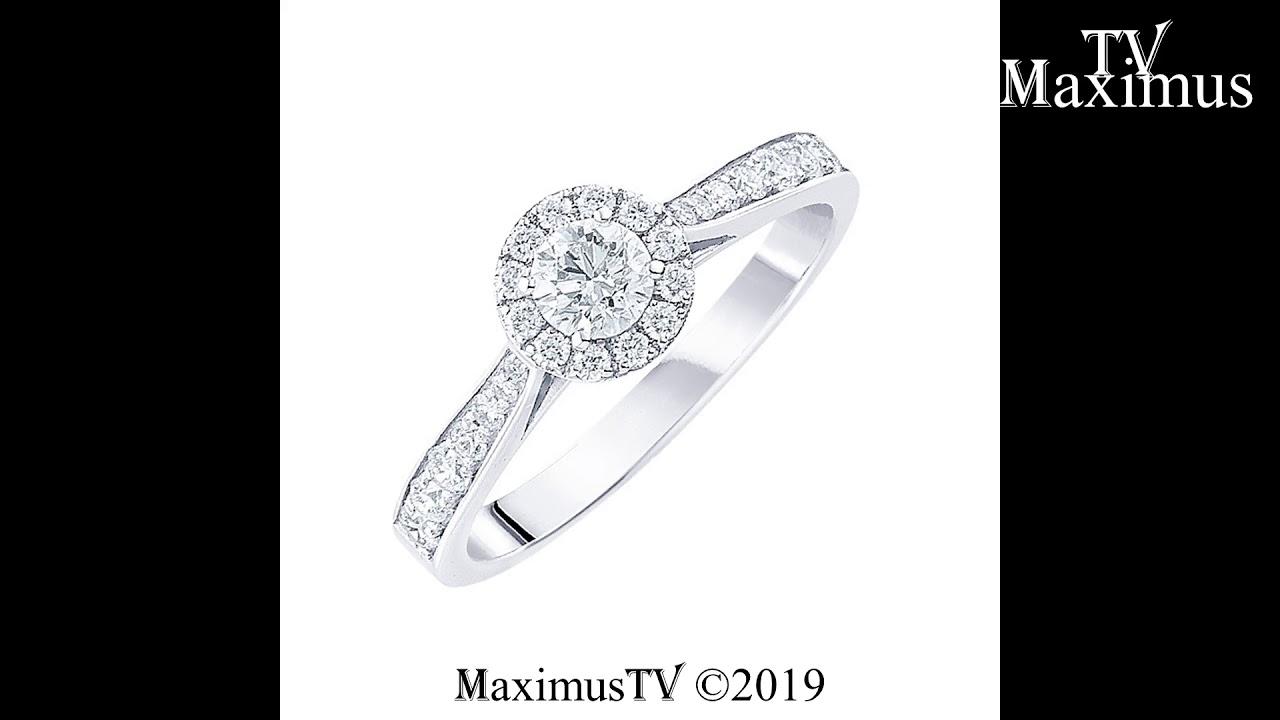 Inel din aur cu diamant solitar