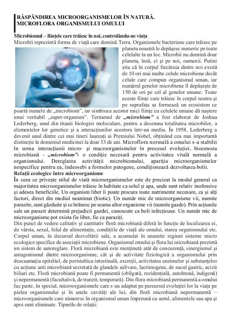 tratamentul bacteriilor parazite