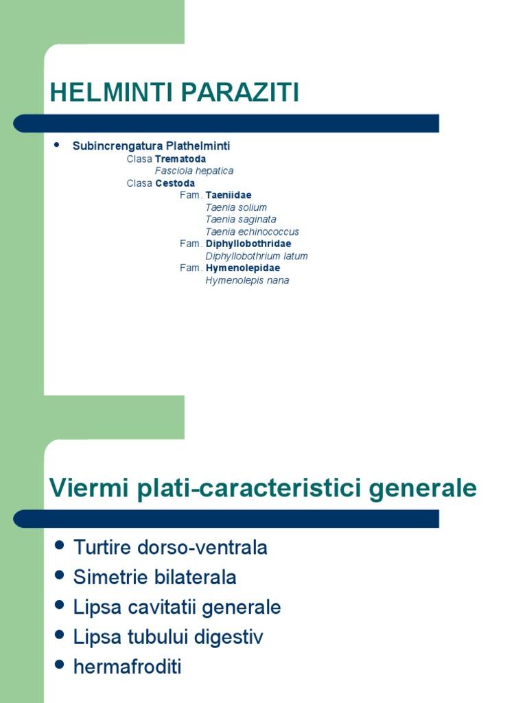 Orori sănătoase: beneficiile paraziţilor | transroute.ro