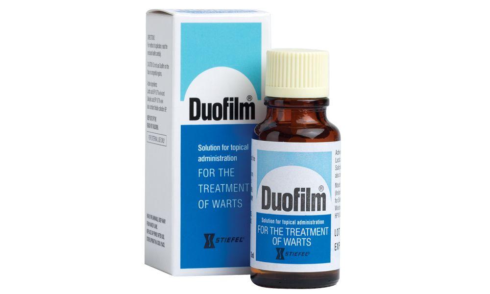 Warts treatment medication, Hirsutoid papilloma
