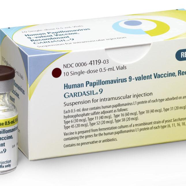 Injection human papillomavirus vaccine