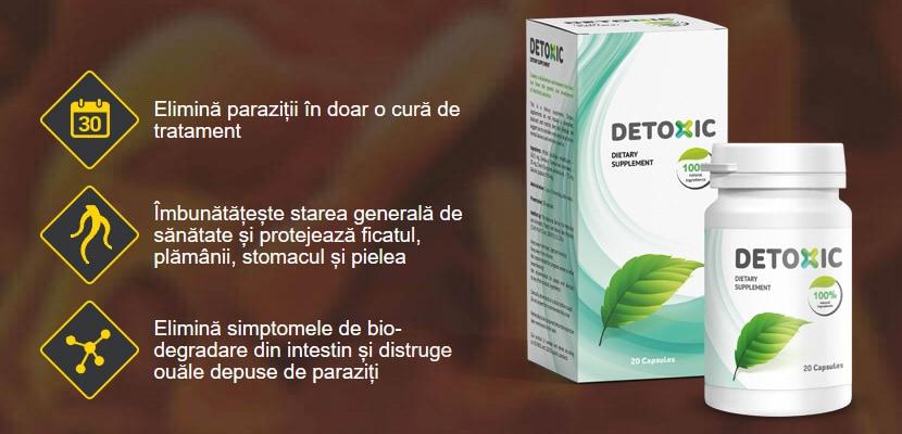 supliment de detoxifiere naturală pentru curățarea colonului enterobius vermicularis glista