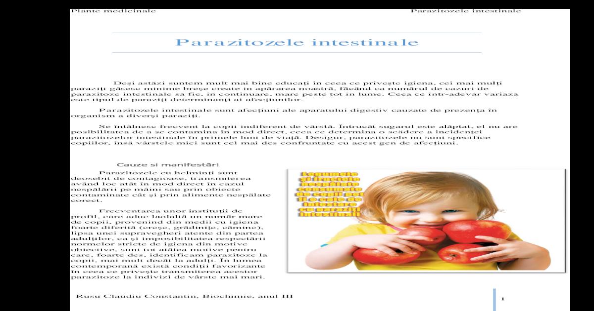 tratamentul și prevenirea viermilor la copii