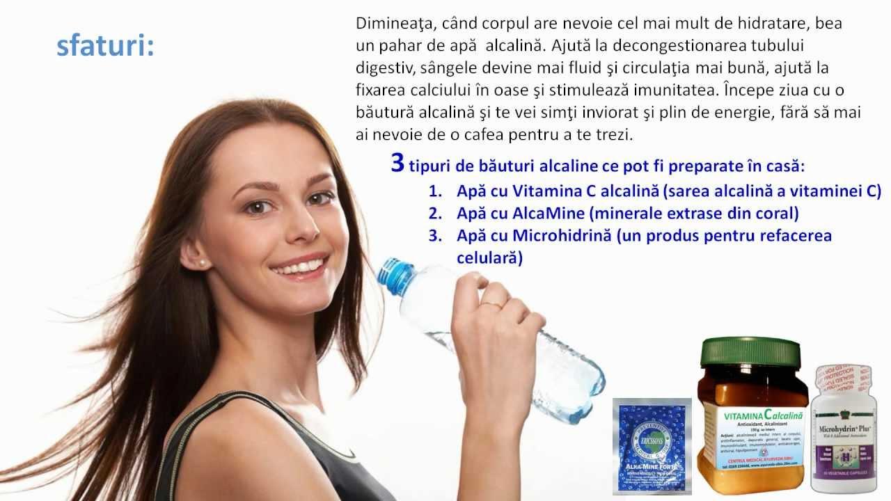 Fa-ti o detoxifiere alcalina a organismului! Iata ce alimente sa