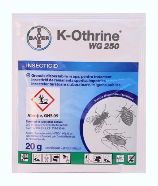 tratarea insectelor