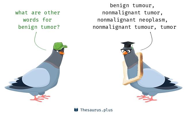 Benign cancer synonym