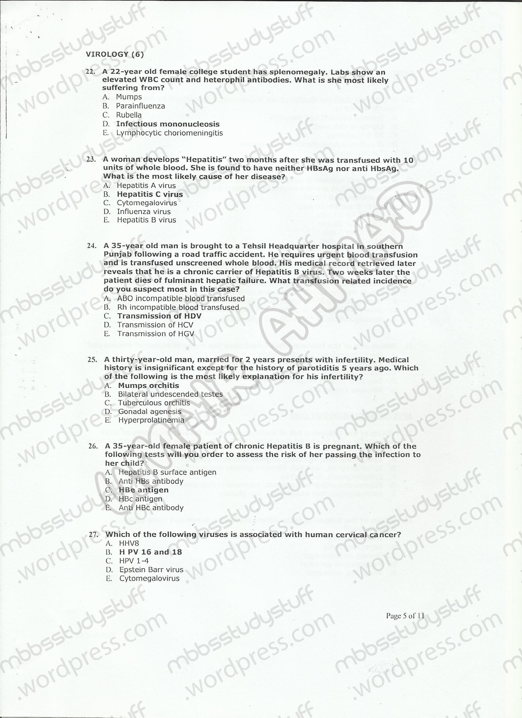 medical helminthology mcqs